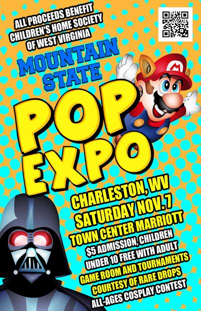 POP EXPO CHARLESTON WV
